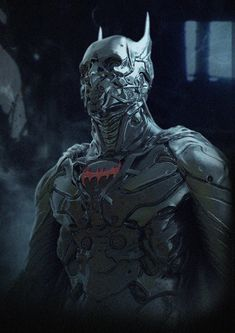 Cyborg Style Batman Character Design by artist Nuttavut Baiphowongse Comic Book Characters, Comic Character, Comic Books Art, Comic Art, Ms Marvel, Marvel Dc Comics, Batman Hd, Superman, Batgirl
