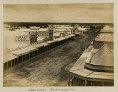 East Street in Rockhampton, ca. East Street, Australian Curriculum, Cairo, Brisbane, Egypt, Photographs, History, Garden, Pictures