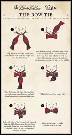 Bow tie how to