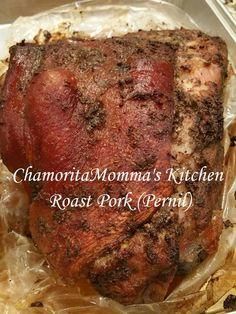Roast Pork (Pernil - Guamanian Version)