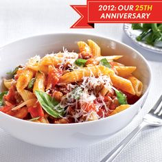 25 best pasta recipes from Cooking Light