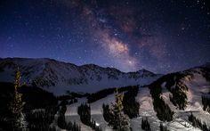 MqiQ9Fu.jpg (2560×1600) Milky Way over A Basin Ski Area, Loveland Pass CO - My favorite ski area - ZbohomAPis www.bmertus.com - This is my home stomping ground.