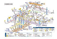 構内図 | 渋谷駅/G01/Z01/F16 | 東京メトロ
