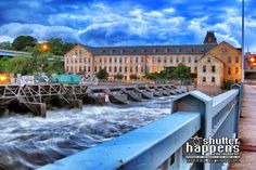 'Historic Fox River Mills' by Mark David Zahn Photography (formerly Shutter Happens Photography).  Taken in Appleton Wisconsin on the Fox River, near the Historic Fox River Mills Apartments and Pullman's Restaurant.