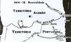 Quionga territory before Portuguese occupation. 1000 km2.