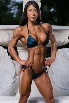 A picture of Lori Wheeler. This site is a community effort to recognize the hard work of female athletes, fitness models, and bodybuilders. Bikini Fitness, Bikini Workout, Fitness Models, Fitness Women, Female Fitness, Ripped Girls, Muscular Women, Muscular Legs, Shoulder Workout