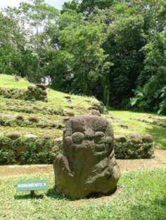 Takalik Abaj.  Monumento 2 del preclásico
