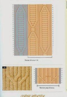 pletki - Barbara H. Stitch Patterns, Knitting Patterns, Knitting Ideas, Zhurnal Mod, Knit Crochet, Projects To Try, Blog, Twists, Albums