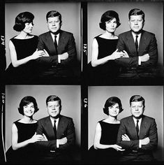 """I leaned across the asparagus and asked her for a date."" -J.F.K. on his first proposition to Jackie"