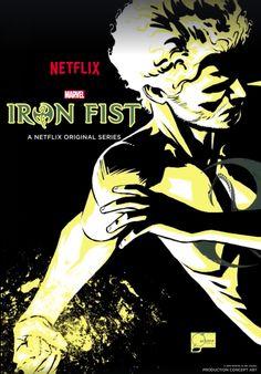 Punho de Ferro - Liberado novo pôster incrível da nova série da Marvel e Netflix! - Legião dos Heróis