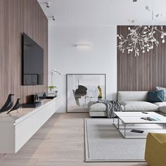 Minimalist living room is completely important for your home. Because in the living room every the events will starts in your pretty home. locatethe elegance and crisp straight Best Minimalist Living Room Design. Living Room Tv, Living Room Lighting, Living Room Interior, Living Spaces, Living Area, Contemporary Interior Design, Home Interior Design, Interior Modern, Minimalist Interior