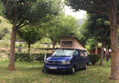 Furgoneteros a lo #VidaVerneda #campingenfamilia #campingwithkids #camper #valdaran #pirineos