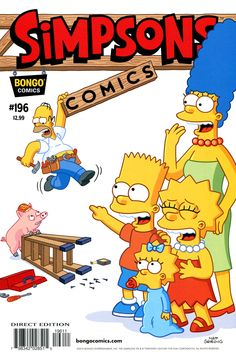The Simpsons Comics issue #196