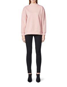 Women's sweatshirt in cotton-blend. Below hip length. Sweatshirts, Blouse, Fall, Long Sleeve, Sleeves, Cotton, Tops, Fashion, Autumn