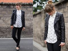 Mice and leopards (by Eline V.) http://lookbook.nu/look/3742601-Mice-and-leopards