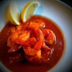 La Dama Cooks: Camarones (Shrimp) a la Diabla