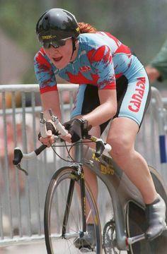 Clara Hughes, Canadian cyclist Clara Hughes, Ice Dance, Bicycle Girl, Cool Bikes, Bicycles, Athletes, Worship, Respect, Sydney