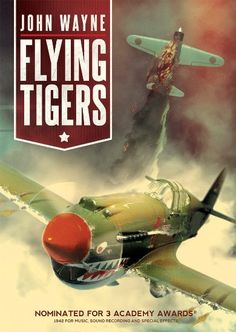 Shop Flying Tigers [Blu-ray] at Best Buy. Find low everyday prices and buy online for delivery or in-store pick-up. Tiger Flying, Paul Kelly, John Wayne Movies, David Miller, War Film, Old Movies, Classic Movies, Film Movie, Cool Things To Buy