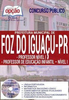 Apostila - PROFESSOR NÍVEL I E PROFESSOR DE EDUCAÇÃO INFANTIL - NÍVEL I - Prefeitura Municipal de Fo