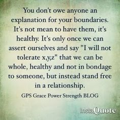 Healthy relationships 437271445054660238 - Took a while to be ok with setting boundaries and sticking to them. Even when someone didn't like it. Boundaries are for you. Source by katherineharle Great Quotes, Quotes To Live By, Me Quotes, Inspirational Quotes, Truth Quotes, Famous Quotes, Infp, Boundaries Quotes, Marriage Boundaries