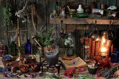 Herbalist's Workshop | by memoryweaver