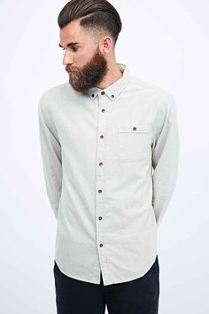 Common People Farrow Button Shirt in Oatmeal