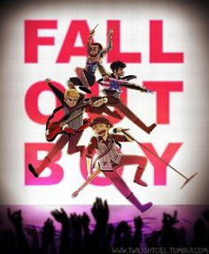 Fall Out Boy is my favorite band, and it has been that way for around a decade (wow! On 2013 I had the pleasure of seeing them live at House of Blues - Orlando and the concert was amazing! Linkin Park, Emo Bands, Music Bands, Music Music, Rock Bands, Fall Out Boy, Three Days Grace, Panic! At The Disco, One Pilots