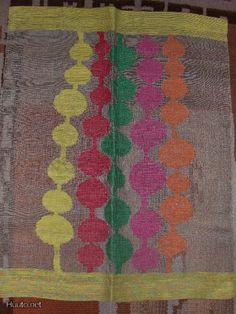 Helmi Vuorelma Oy   kuultokudos: transparent weave   linen   Lahti, Finland   c. mid-20th century