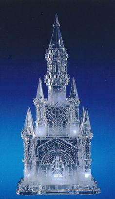 """18.5"""" cuento de hadas de Cenicienta LED iluminado Castillo pastel superior, centro de mesa, decoración quinceañera"""
