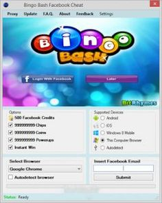 Bingo Bash Hack Free Chips Bingo Events Bingo Bash is an amazing android bingo opportunity that is perfect for every one – from newcomers to avid and regular players of Bingo mobile. So if you enjoy playing on new bingo sites, this is definitely up your alley! read on… Here is a quick lesson for you in Bingo Bash – the ultimate bingo game on mobile. For playing BingoBash you require bingo chips which is basically the mobile currency used to purchase bingo cards for your games