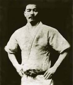 "Mitsuyo Maéda, called the ""toughest man who ever lived"". At the direction of Judo founder Jigaro Kano he traveled to Brazil to spread the art of Judo. There he met the Gracie family, and together they developed the art of Brazilian Jiu-jitsu."