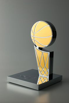 The Doris: A Larry-O'Brien inspired perpetual basketball trophy
