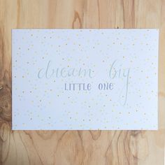 Poster 'little one'