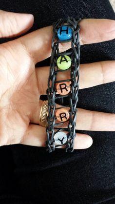 Rubber band bracelet for my Harry Styles fan