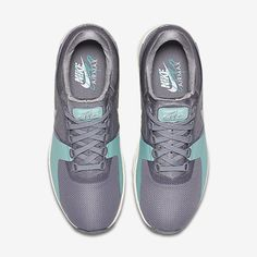 the latest e5186 a6b4a Chaussure Nike Air Max Zero Pas Cher Femme Gris Froid Voile Turquoise  Delave Gris Froid