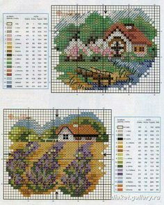 Best needlework also about Needlework patterns Click above VISIT link for more - Needlework tips & tricks Cross Stitch House, Mini Cross Stitch, Cross Stitch Flowers, Cross Stitch Charts, Counted Cross Stitch Patterns, Cross Stitch Designs, Cross Stitch Embroidery, Embroidery Patterns, Paper Embroidery