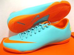 3e215c2fd9 NIKE MERCURIAL VICTORY III IC INDOOR COURT FUTSAL FOOTBALL SOCCER SHOES  TRAINERS