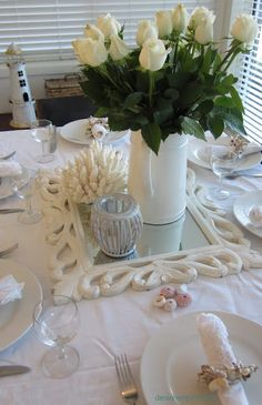 Beautiful mirror for a centerpiece