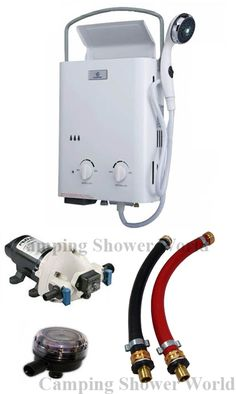 Camping Shower World carries eccotemp water heaters, eccotemp l5 water heater, portable tankless water heaters, instant hot water, eccotemp l10 tankless water heater. The #1 store for camping shower products. http://www.campingshowerworld.com/eccotemp-water-heaters.html