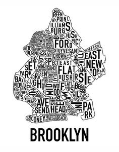 Brooklyn map