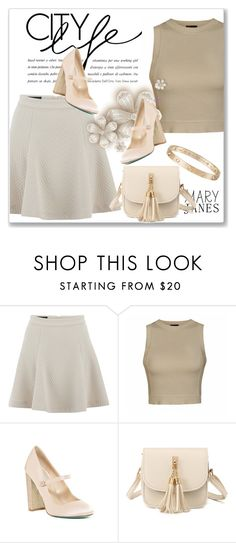 """Sweet Mary Janes"" by andrejae ❤ liked on Polyvore featuring Designers Remix, Ally Fashion, Betsey Johnson, Cartier and maryjanes"