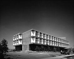 Northridge Medical Arts Building, Los Angeles, Paffard Keatinge-Clay, 1964-66