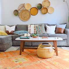 Love the new home our Moroccan rug has found! @eclectic.leigh great styling!