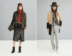 Madewell Fall 2014: love the juxtaposition of styles