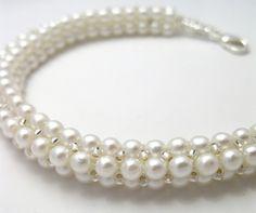 Free - White Pearl Rope Tutorial