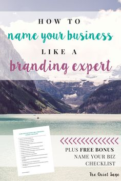 Are you a stay-at-home mom who is looking to make money online through passive income and side hustles? Starting an online business is a great way to make extra money to support your family, but how do you get started with naming your business? Click thro