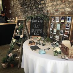 Such beautiful styling and what a great idea with a Polaroid camera for the guestbook! #weddingwednesday . . . #rusticdecor #wedding #weddings #wednesday #weddingideas #weddinginspo #weddingfun #weddingplanning #weddingdecoration #nofilter #nofilterneeded #instagood #instamood #instagram #instadaily #cute #polaroid #flowers #weddingflowers #perfect #photos