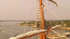 VIDEO: See the Tall Ships like never before... The view from above over Greenport Harbor, courtesy of LePre Media and The Suffolk Times.
