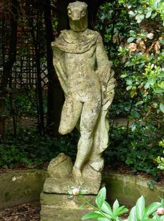 This Greco/Roman Serpent God Statue stands in the Gardens of a Convent in Scarzuola, Italia. What is it doing in a Christian Holy Place?
