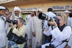 Moment à Pokharan dans la région du Rajasthan